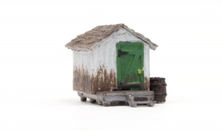Woodland Scenics Wood Shack - N Scale