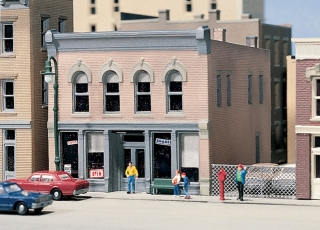 Woodland Scenics Char's Soda Shoppe - N Scale Kit