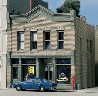 Woodland Scenics Roadkill Café - N Scale Kit