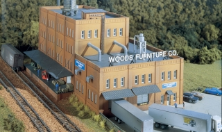 Woodland Scenics Woods Furniture Co - N Scale Kit