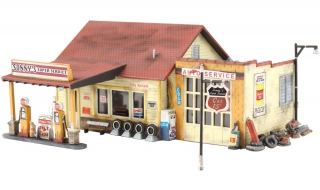Woodland Scenics Sonny's Super Service - N Scale Kit