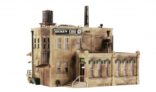 Woodland Scenics Sicken Tire Company - N Scale Kit