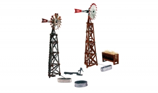 Woodland Scenics Windmills - N Scale Kit