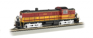 Bachmann HO Alco RS-3 - Boston & Maine #1545 - DCC