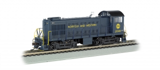 Bachmann HO Alco S4 - Norfolk And Western #2046