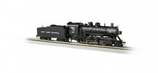 Bachmann HO Baldwin 2-8-0 Consolidation - NYC #1137 - DCC + Sound