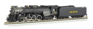 Bachmann HO 2-8-4 Berkshire - Nickel Plate#759 - DCC + Sound