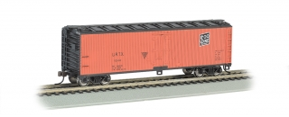 Bachmann HO 40 FT Wood-side Refrigerated - Union/Soo Line