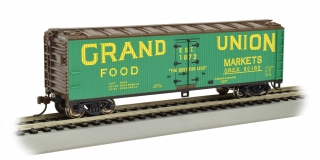 Bachmann HO 40 FT Wood-side Refrigerated - Grand Union