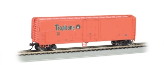 Bachmann HO 50 FT Steel Refrigerated - Tropicana Orange