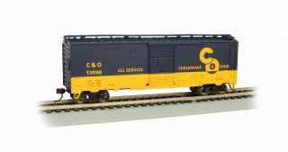 Bachmann HO 40 FT Box Car - C&O® #13098