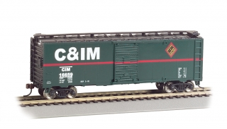 Bachmann HO 40 FT Box Car - Chicago & Illinois Midland